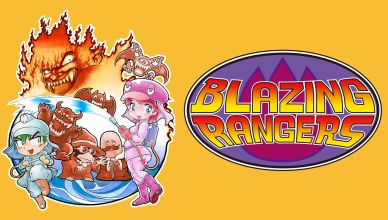 Blazing Rangers - Featured Image