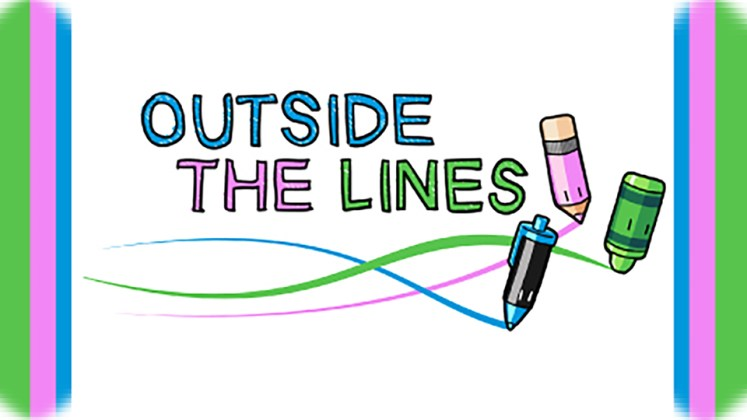 Free Games - Outside the Lines - Key Art
