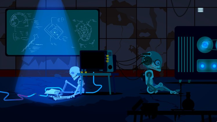 Outsider After Life Screenshot - Opening Scene HUD-ini