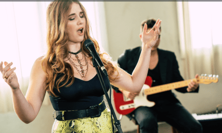 Music lover Allegra shows off her acoustic side with Lewis Capaldi cover