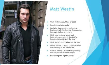 """Country Artist Matt Westin To Be Named """"Distinguished Alumni"""" By High School Alma Mater"""