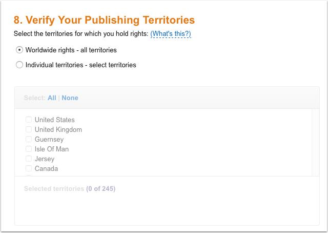 How To Publish Your First Book To Amazon Kindle Part 2