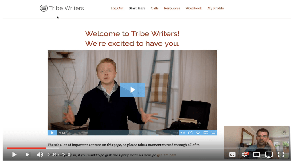 Jeff Goins Tribewriters Review