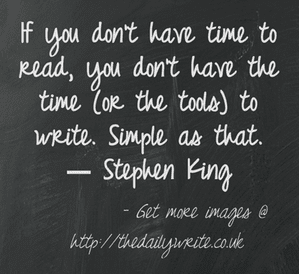 King-on-writing