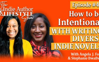 040: How to be Intentional with Writing Diverse Indie Novels