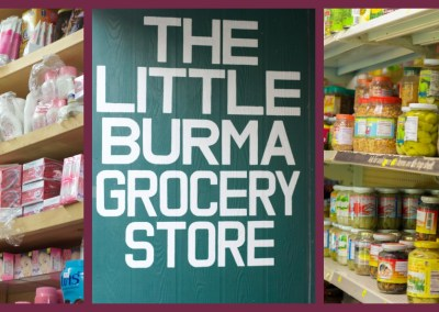 The Little Burma Grocery Store