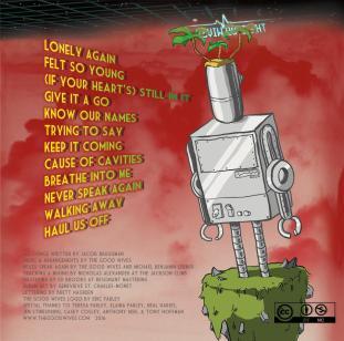Robot Island Album Back