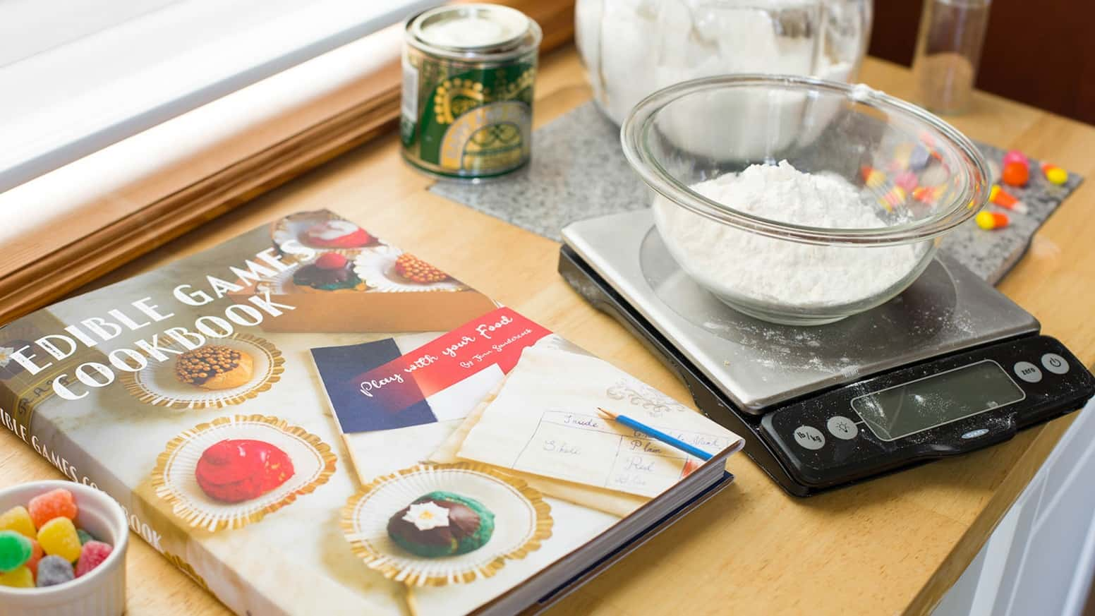 Edible Games Cookbook