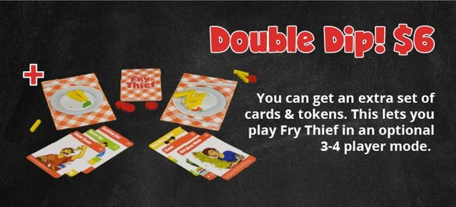 Double Dip add on to unlock 3-4 player mode.