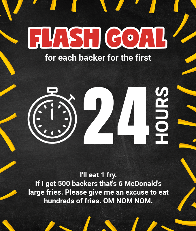 24 hour flash goal for Fry Thief