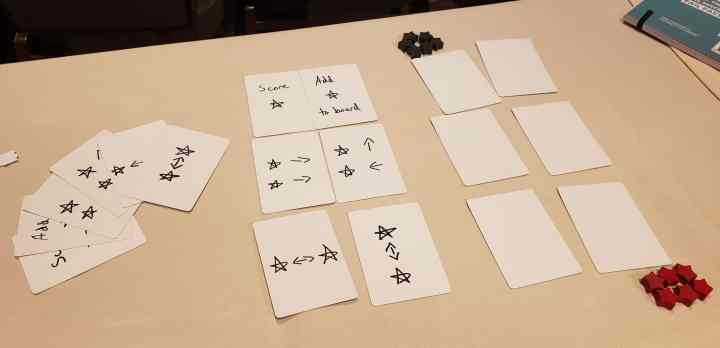 Abstract star game