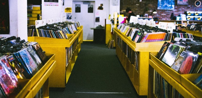 "Record Store - Vinyl is not a ""Sham"""