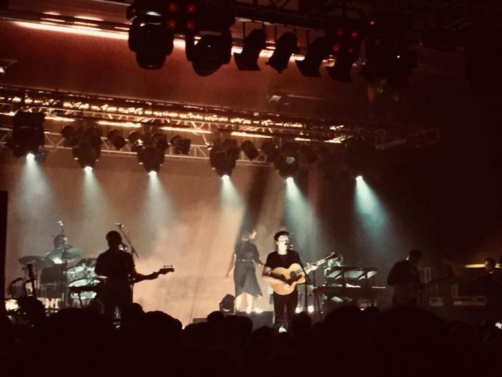 James Bay performing at O2 Academy Sheffield.