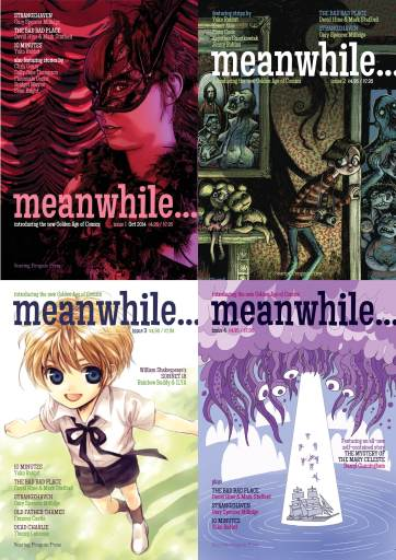 indie comic news, The Collected Meanwhile… comes to Crowdfunding, The Indie Comix Dispatch