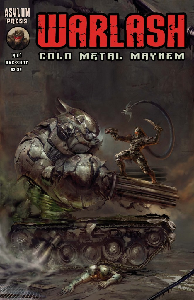 indie comic news, Asylum Press announces the launch of Warlash Cold Metal Mayhem on INDIE GOGO, The Indie Comix Dispatch