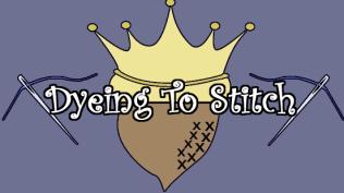 Dyeing To Stitch Logo