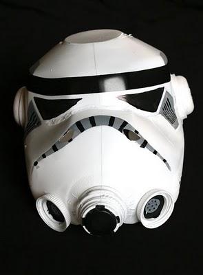 milk jug storm trooper helmet halloween costume diy