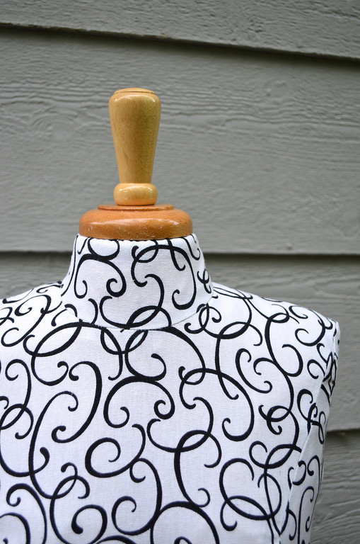 make your own cardboard and fabric dress form � indie crafts