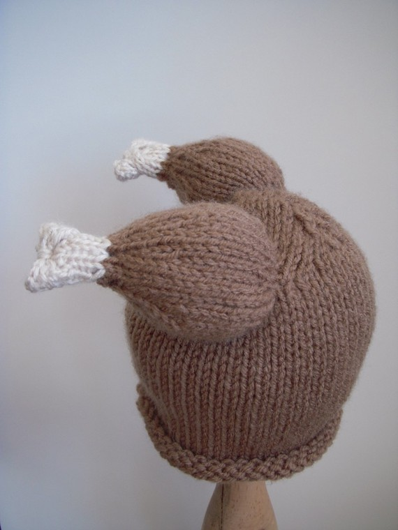 Hand Knit Turkey Hat Newborn Baby Photo by LittleBirdLucy   Indie Crafts