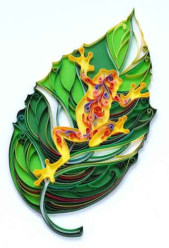 brazillian tree frog quilled