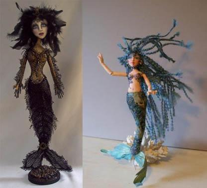 Mermaid Doll Winners