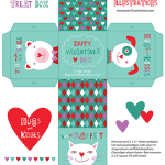 Free Valentines Day Printable Boxes
