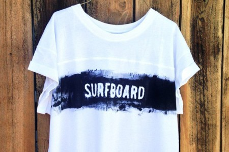 DIY Screen Printed T-Shirts for Your Summer Attire