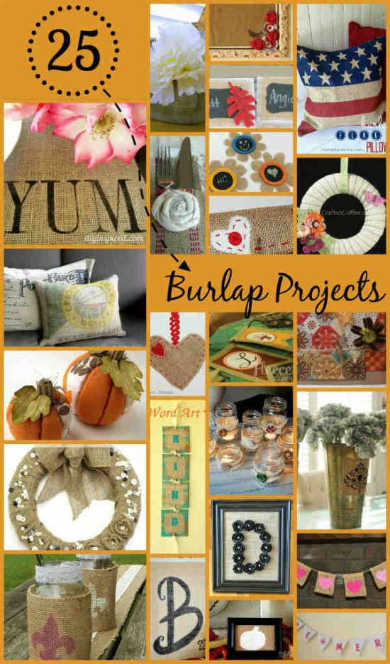 25 Clever Burlap Diy Projects Indie Crafts