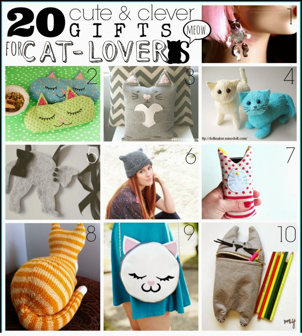 20 handmade gifts for cat lovers indie crafts for Gift ideas for craft lovers