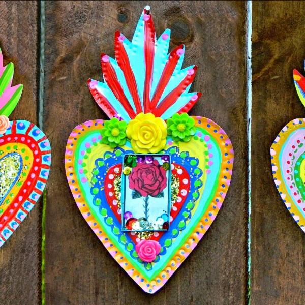 Mexican Tin Folk Art Diy Indie Crafts