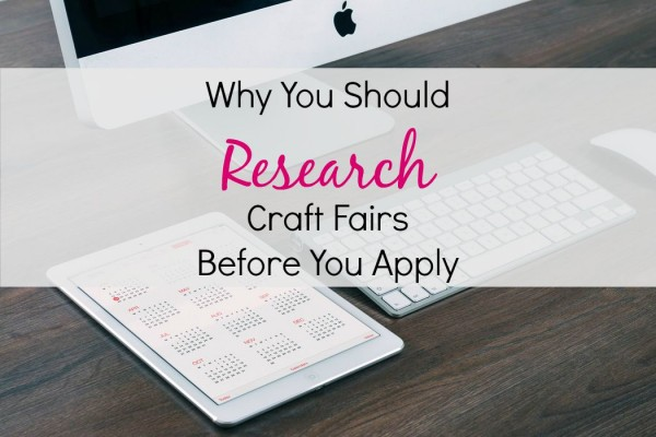 Why you should research craft fairs before you apply for What craft should i do