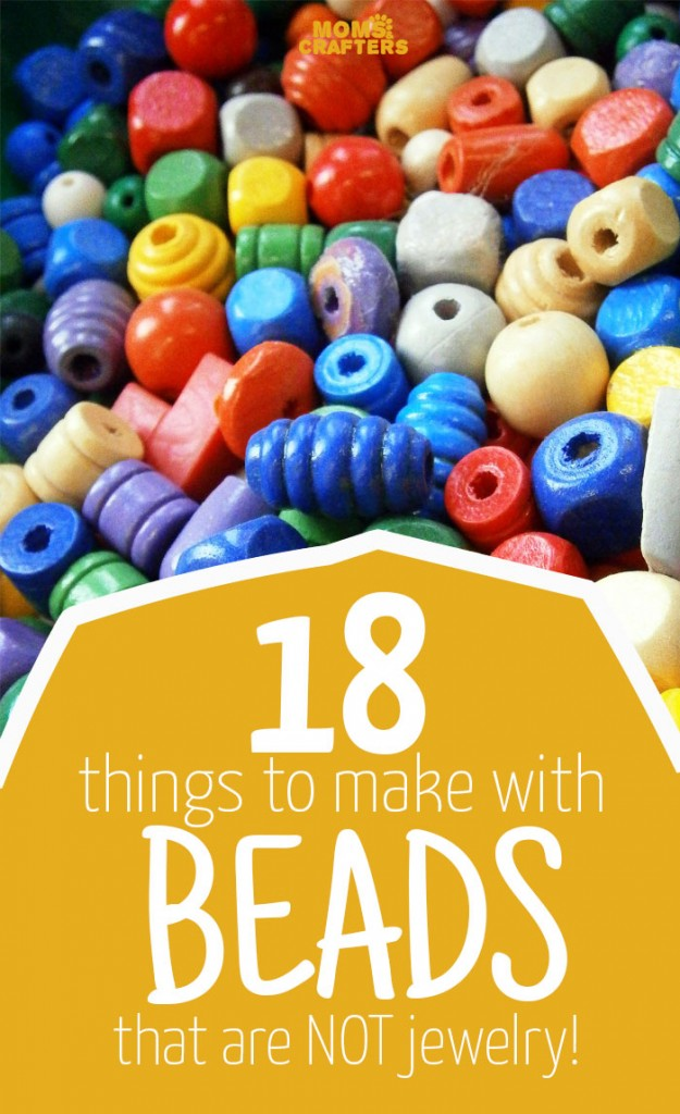 18 things to make with beads that aren t jewelry indie for Bead craft ideas for kids