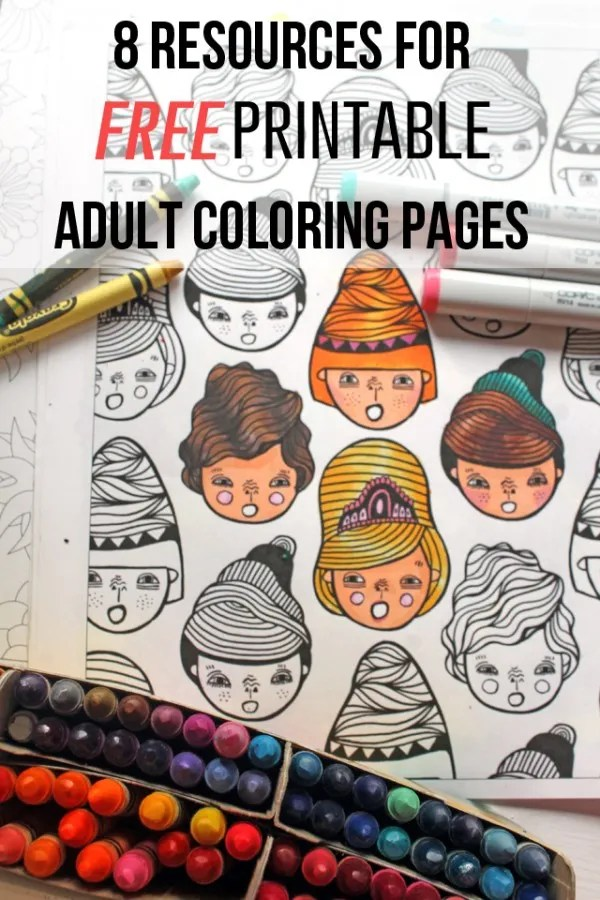 8 Resources And Free Printables For Adult Coloring Indie