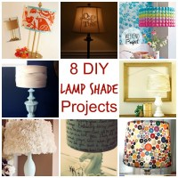 8 DIY Lamp Shade Projects