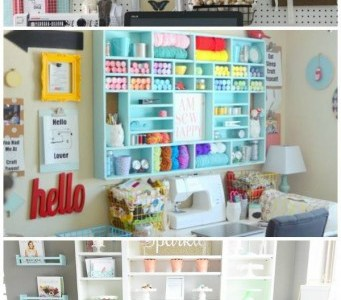 10 Gorgeous Craft Rooms to Inspire You