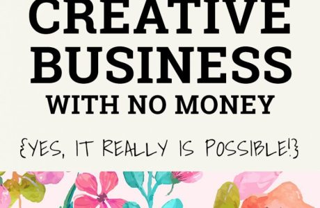 How To Start A Handmade Business With NO Money
