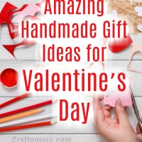 Amazing Handmade Gifts Ideas for Valentine's Day