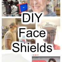DIY Medical Face Shields You Can Make At Home