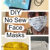 No Sew DIY Face Masks