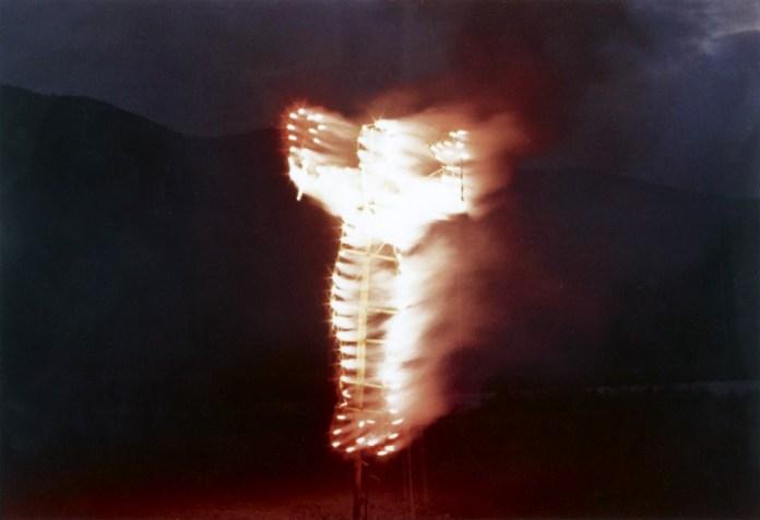 "Ana Mendieta, ""Anima, Silueta de Cohetes"" still image courtesy Galerie Lelong"