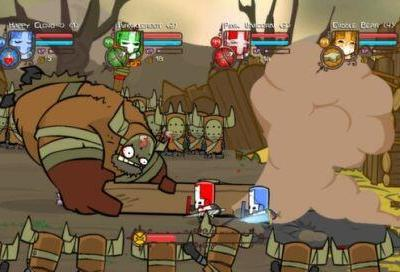 indie_game_reviewer_castle_crashers_screenshot_ boss_fight