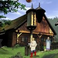 Father Frost HD screenshot - cottage