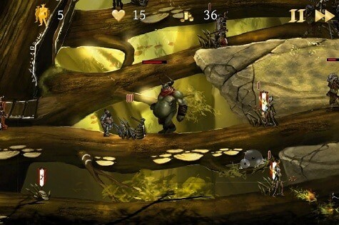 A Knights Dawn game for iOS - Ogre