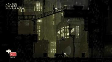 mark of the ninja rainy city screenshot