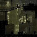 mark of the ninja rainy city screenshot