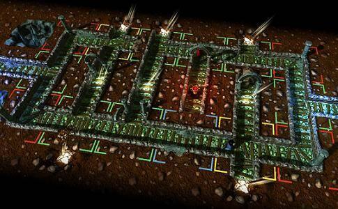 Vampires! game - screenshot