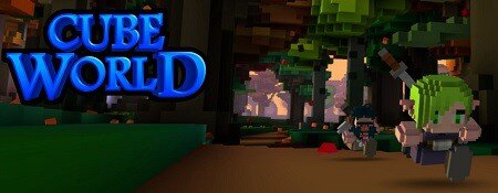 Cube World header logo