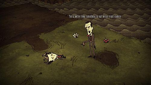 Don't Starve - opening screenshot