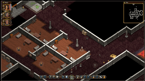 Avadon 2 The Corruption - interior building screenshot