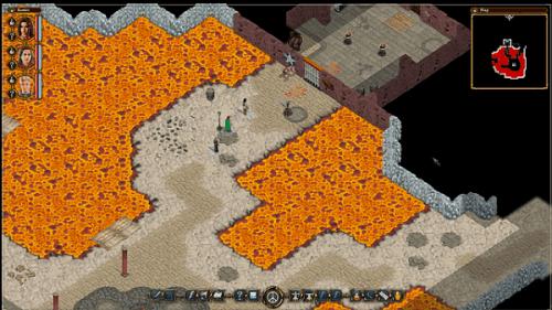 Avadon 2 The Corruption - lava pits
